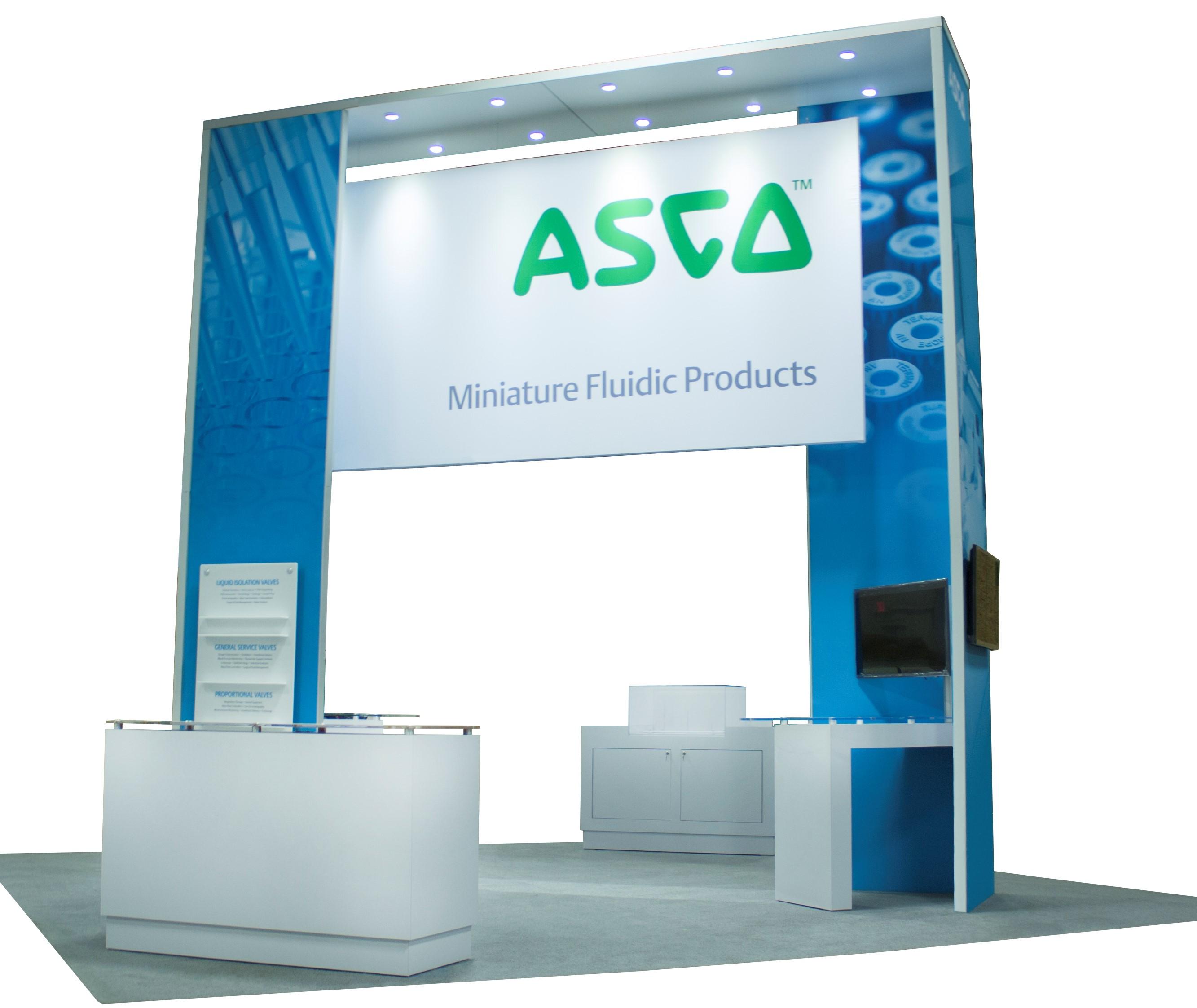 ASCO Exhibit by Lindsay Exhibit Group